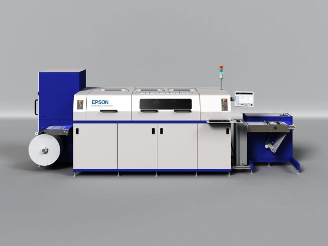 Epson 7-Farbdrucker zur Produktion von Etiketten