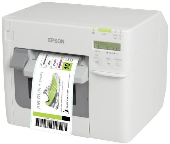 Neuer Epson TM-C3500 Etikettendrucker senkt Druckkosten