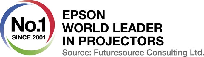 Epson named world's number one projector manufacturer for 14th consecutive year