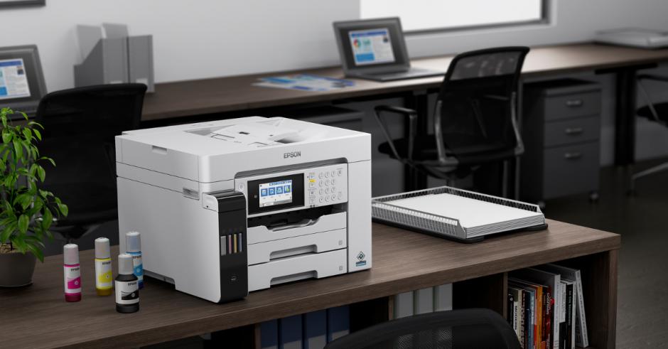 Epson julkistaa kaksi A3-koon EcoTank-tulostinta yrityskäyttöön