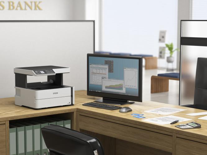 Epson apresenta novos modelos das impressoras EcoTank mono para negócios