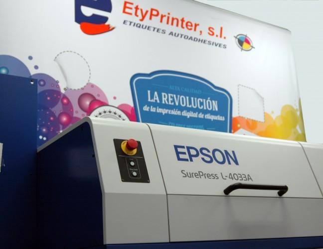Etyprinter incorpora la primera Epson SurePress instalada en España