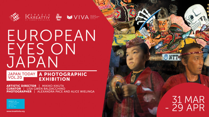Valletta 2018 created a window into Japan with Epson