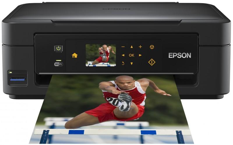 Kompakte Epson Druckerserie für Foto- und Textdruck zu Hause