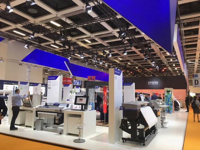 Epson présentera du cuir de synthèse et d'autres applications complètes au salon FESPA2019
