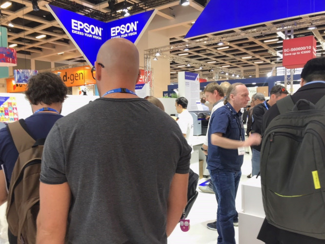 Epson to expand product line-up at Fespa 2019