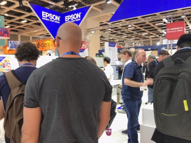 Epson aumenta a sua proposta de soluções na Fespa 2019