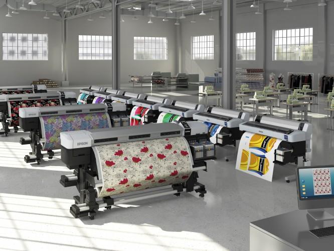 Epson prezintă cele mai noi imprimante SureColor la Heimtextil
