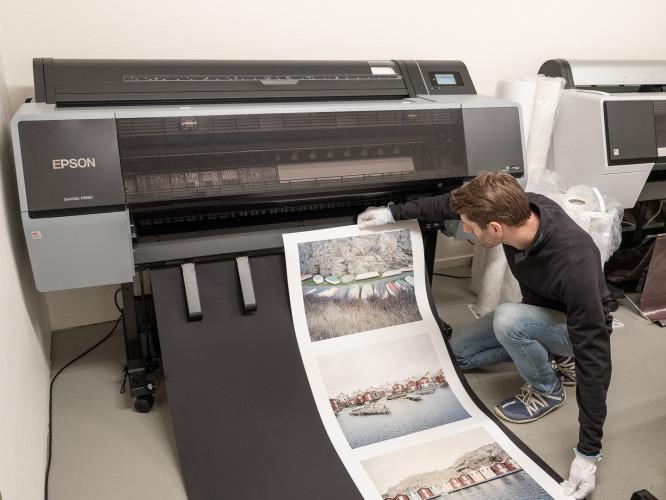 Upplev storheten i printat foto