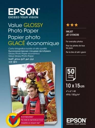 Az új Value Glossy fotópapír a hétköznapi felhasználók számára is kimagasló Epson minőséget kínál