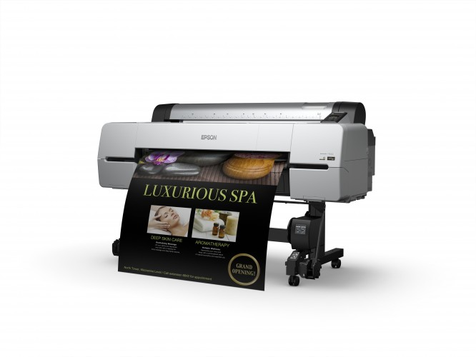 drupa exclusive: Epson shows new super-fast 44-inch large format production printer