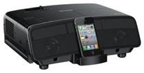Predstavujeme prvý projektor HD-Ready 3LCD s dokovacím konektorom pre iPod