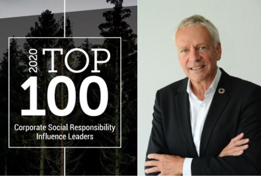 La lista Top CSR Influence Leader destaca el compromiso de Epson con la sostenibilidad
