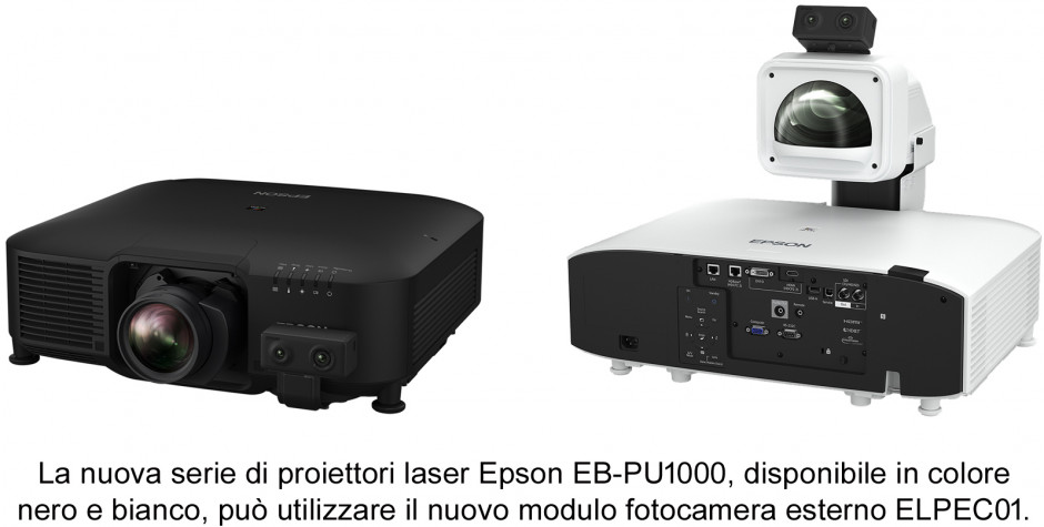 Epson presenta una nuova gamma di videoproiettori laser ad alta luminosità, compatti e versatili