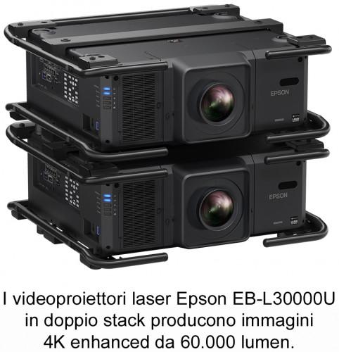 A ISE 2020 Epson presenta il nuovo videoproiettore  EB-L30000U da 30.000 lumen