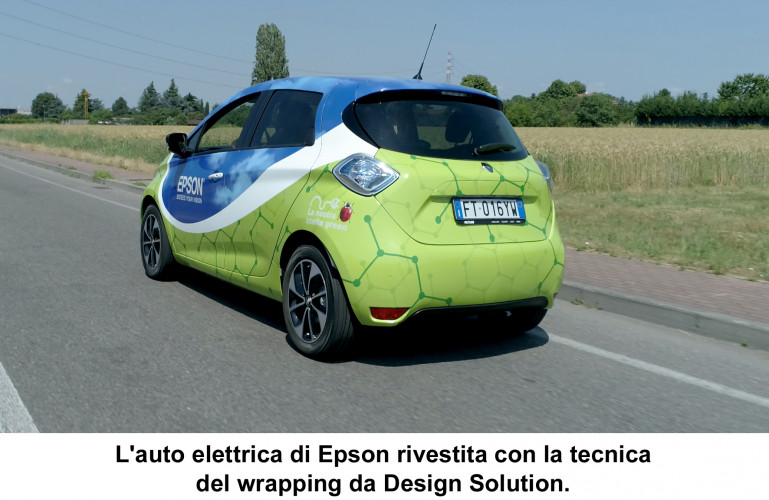 Epson e Design Solution  compagne di viaggio per il wrapping
