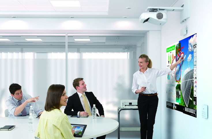 Epson innovates for new business projector launches