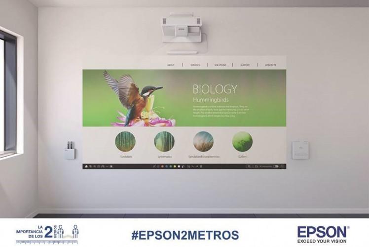 Epson apresenta as suas soluções e ferramentas de suporte para enfrentar a nova normalidade no ensino