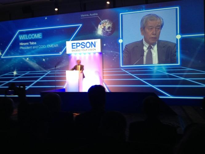 As primeiras impressoras profissionais Epson a utilizar a tecnologia PrecisionCore