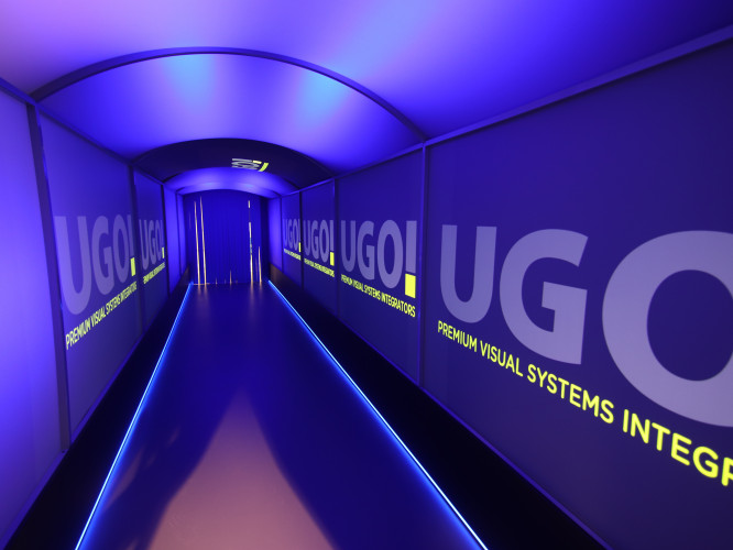 UGO! Media vytvořili pro Českou televizi unikátní projekční tunel