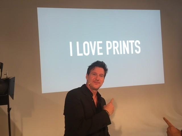 Marco Grob bei Podiumsgespräch auf der photokina