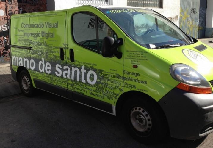 Mano de Santo: Beschilderungen, die Eindruck hinterlassen