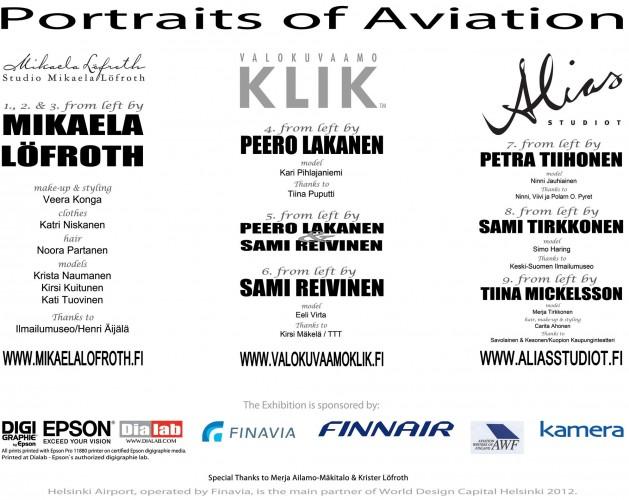 Epson tukee Portraits of Aviation –valokuvanäyttelyä Helsinki-Vantaan lentoasemalla