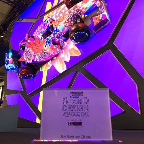 Epson wraps up a successful ISE 2017 by winning Best Large Stand