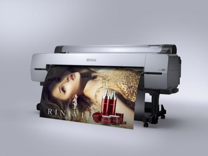 Nagyméretű képek nyomtatása sokkal gyorsabban, kimagasló minőségben