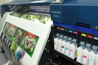 Kommerzielle Produktion mit Epson SureColor SC-B6000 und SureColor SC-S80610