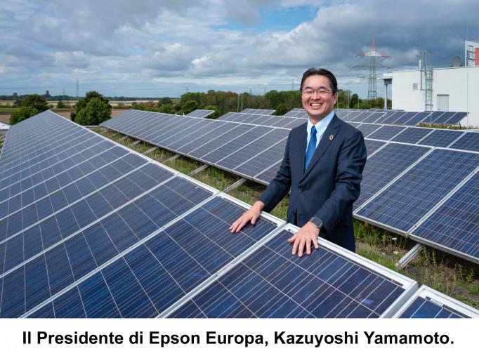 """Epson entra nella prestigiosa """"A List"""" di CDP per la gestione del cambiamento climatico e la tutela della sicurezza idrica"""