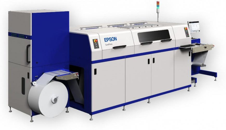 Bristol Labels establishes digital label service with Epson SurePress L-4033AW press investment