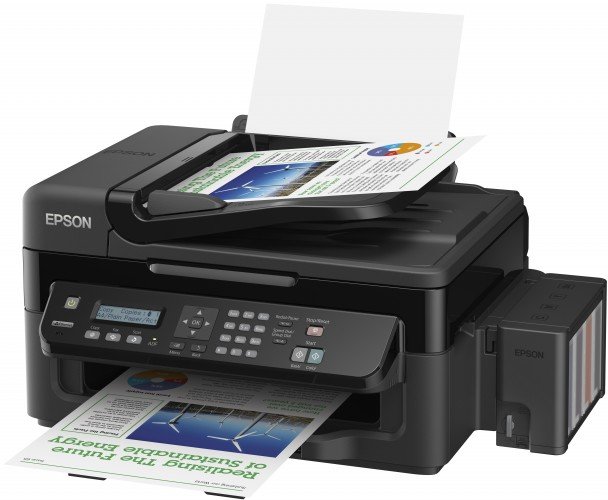 Ultra-low cost-per-page and Epson-quality every time