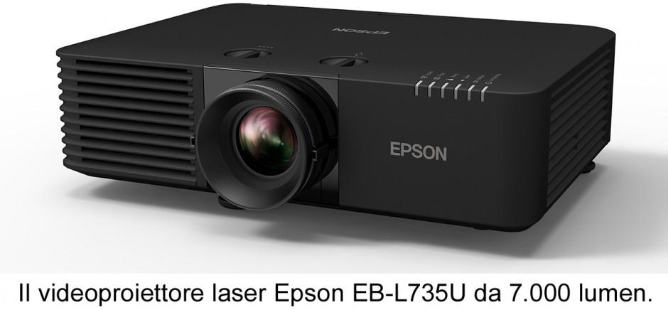 Epson amplia la gamma di videoproiettori laser 3LCD per i settori retail, corporate, hospitality e intrattenimento
