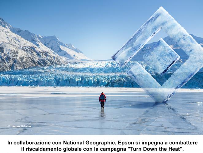 """In collaborazione con la National Geographic Society, Epson presenta la campagna """"Turn Down the Heat"""""""