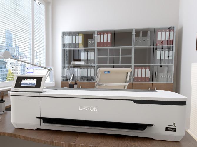 Epson lancia la stampante di largo formato più piccola e conveniente della gamma SureColor T