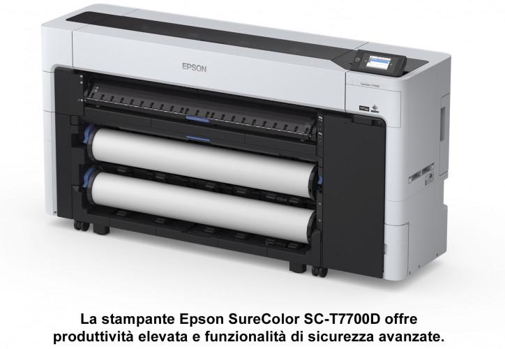 Epson presenta due nuove stampanti a doppio rotolo da 44 pollici