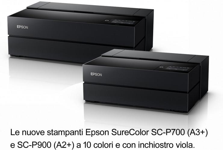 Precisione e profondità delle immagini per le nuove stampanti fotografiche Epson A3+ e A2+