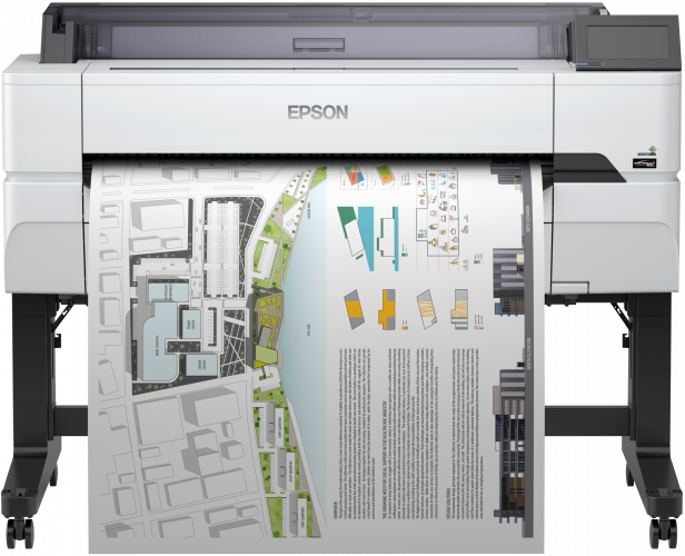 Epson adds new large format printers to its professional range – introducing the SureColor SC-T3405, T3405N and SC-T5405