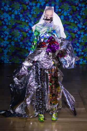 Richard Quinn puts new spin on vintage Liberty florals using Epson inkjet for first London Fashion Week show