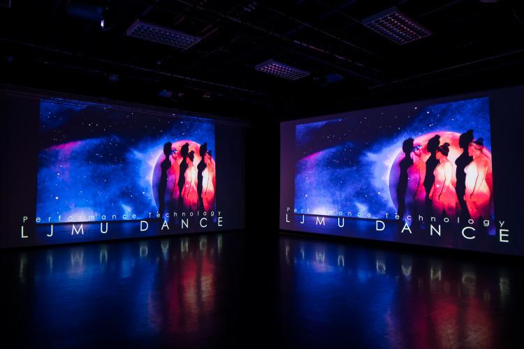 Liverpool John Moores University dance theatre