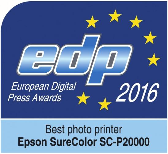 Nova impressora Epson SureColor vence prémio EDP