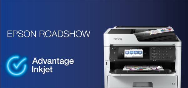 """Prosegue in autunno il roadshow """"Advantage Inkjet"""" di Epson, per incontrare i rivenditori nei cash&carry"""