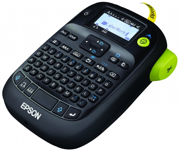 Epson etikettenprinter met rubberen behuizing voor gebruik in industriële omgevingen