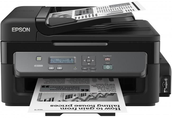Epson przedstawia pierwsze na rynku monochromatyczne drukarki z wbudowanym systemem zasilania w atrament