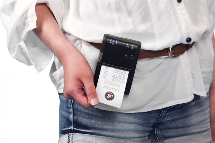 Epson lancerer firmaets mindste, letteste, mobile kvitteringsprinter