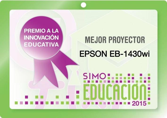 Epson consigue el Premio SIMO Educación al Mejor Proyector del Año