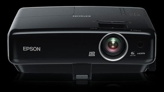 Introducing the first HD-Ready 3LCD projector with iPod docking station