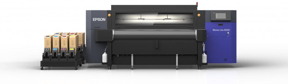 Neuer Epson Monna Lisa industrieller Textildirektdrucker