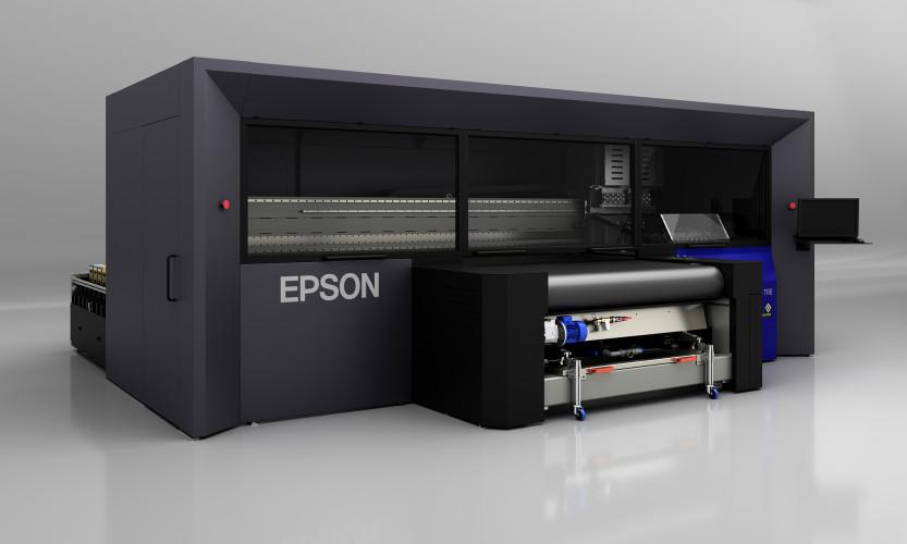 Neues Topmodell der industriellen Monna Lisa Textildrucker